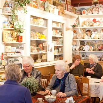 blikkenmuseum met koffie marle